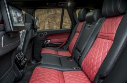 Range Rover SVAutobiography, 2017, rear seats