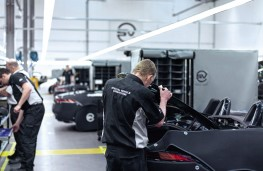 JLR Special Vehicle Operations, production