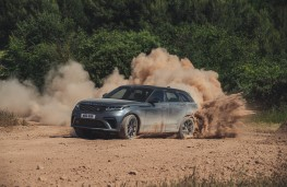Range Rover Velar SVA, 2019, off road, side