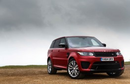 Range Rover Sport SVR, front