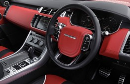 Range Rover Sport SVR, interior