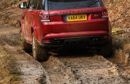 Range Rover Sport SVR, rear