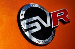 Range Rover Sport SVR, 2018, badge
