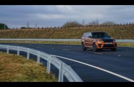 Range Rover Sport SVR, 2018, Fen End, bend