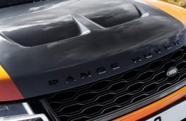 Range Rover Sport SVR, 2018, bonnet