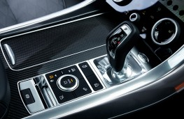 Range Rover Sport SVR, 2018, gear lever