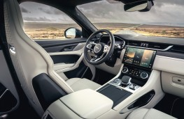 Jaguar F-Pace SVR, 2021, interior