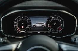 Jaguar F-Pace SVR, 2021, instrument panel