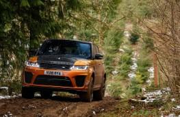 Range Rover Sport SVR, 2018, off road, front