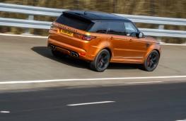 Range Rover Sport SVR, 2018, Fen End, rear