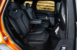 Range Rover Sport SVR, 2018, rear seats