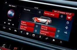 Range Rover Sport SVR, 2018, display screen, upper