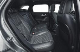 Jaguar F-Pace SVR, 2021, rear seats