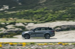 Range Rover Velar SVA, 2019, side, action