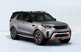 Land Rover Discovery SVX, 2017, front