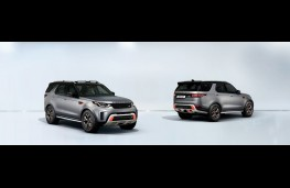 Land Rover Discovery SVX, 2017, pair, wide
