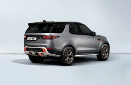 Land Rover Discovery SVX, 2017, rear