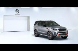Land Rover Discovery SVX, 2017, SVO garage, wide