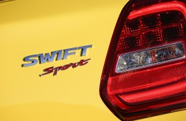 Suzuki Swift Sport, 2018, badge