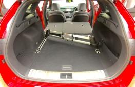 Kia Optima Sportswagon, boot, cargo rails