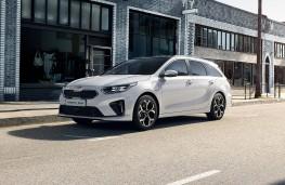 Kia Ceed Sportswagon PHEV, 2020, front