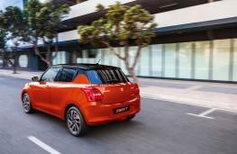 Suzuki Swift, 2021, facelift, rear