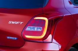 Suzuki Swift, 2017, rear lights