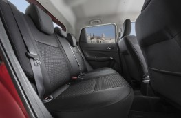 Suzuki Swift, 2017, rear seats