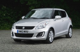 Suzuki Swift 2013, front