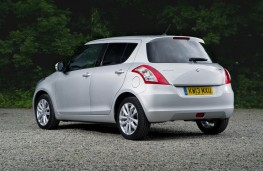 Suzuki Swift 2013, rear