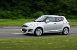 Suzuki Swift 2013, side, action