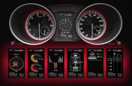 Suzuki Swift, 2017, instrument panel displays