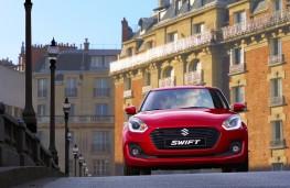 Suzuki Swift, 2017, nose