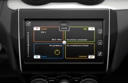 Suzuki Swift, 2017, display screen