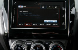 Suzuki Swift, 2017, display screen