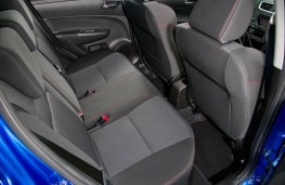 Suzuki Swift Sport 5dr, rear seats