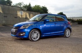Suzuki Swift Sport 5dr, side, static