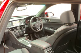 Kia Optima Sportswagon GT Line S, interior