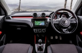 Suzuki Swift Sport, 2018, interior