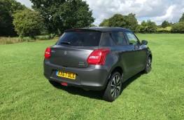 Suzuki Swift, 2019, rear