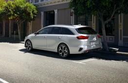 Kia Ceed Sportswagon PHEV, 2020, rear
