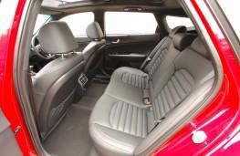 Kia Optima Sportswagon, rear seats