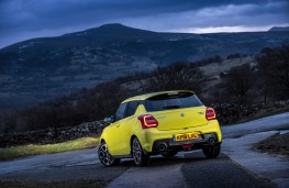 Suzuki Swift Sport, rear, static