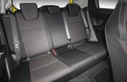Suzuki Swift Sport, 2018, rear seats