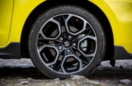Suzuki Swift Sport, 2018, wheel