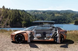 Renault Symbioz concept, 2017, doors