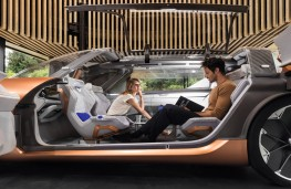 Renault Symbioz concept, 2017, home use