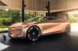 Renault Symbioz concept, 2017, side, in home