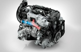 Volvo T5 Drive E petrol engine, 2016