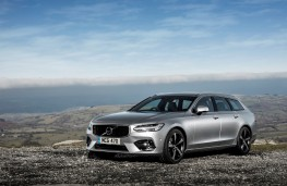Volvo V90 T5 R-Design, 2018, side